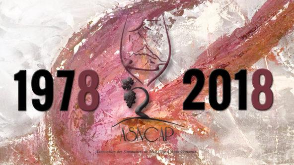 1978-2018, quarantième anniversaire de l'Association des Sommelier de Nice Côtes d'Azur Provence