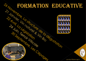 formation educative