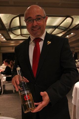 Le gagnant du concours de la meilleure carte des vins du Sud-Est ( Prix Philippe Faure-Brac)