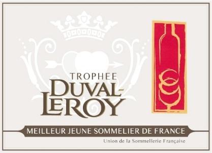 Trophée Duval-Leroy - Meilleur Jeune Sommelier de France - 2015