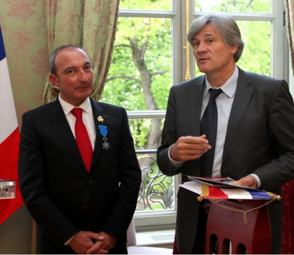 Michel Hermet promu au rang de Chevalier de l'Ordre National du Mérite