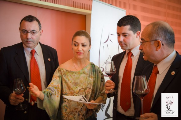 Les photos de la dégustation des vins Arméniens