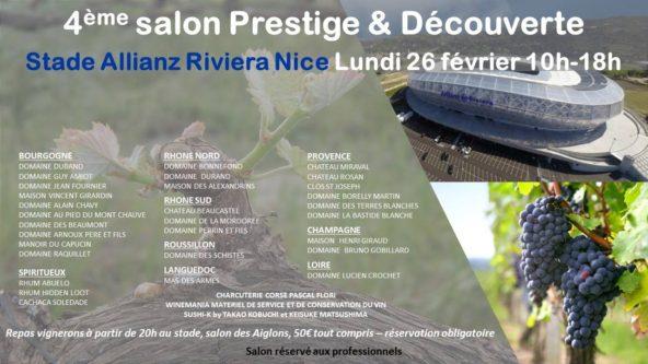 Salon de Serge Jaczynski à Allianz Riviera de Nice