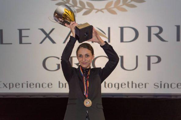 Julia Scavo le meilleur sommelier de Roumanie 2018