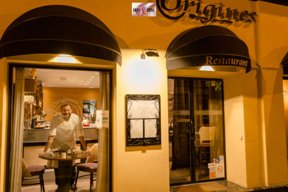 Restaurant Origines à Nice