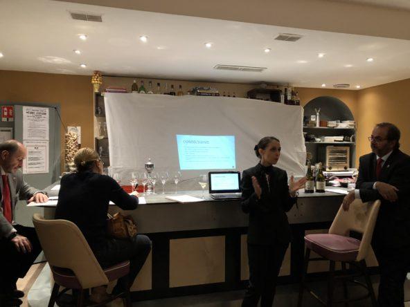 Les commentaires de la dégustation des vins bulgares par Julia Scavo