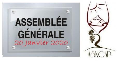 La convocation pour l'Assemblée Générale de l'ASNCAP