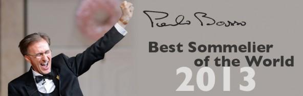 Meilleur Sommelier du Monde 2013 Paolo Basso