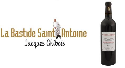 Dégustation des millésimes de Château de Ferrand Grand Cru Classé de Saint-Emilion - Jacques Chibois