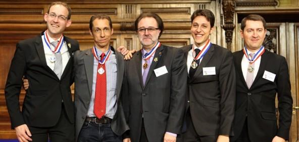 La remise officielle des médailles des Meilleurs Ouvriers de France 2015