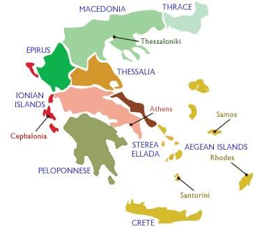 La visite du vignoble Grec