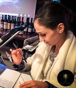 Commentaires de Julia Scavo sur les vins Moldaves chez Renato Reno