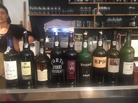 Le Compte rendu de la soirée de dégustation du Porto