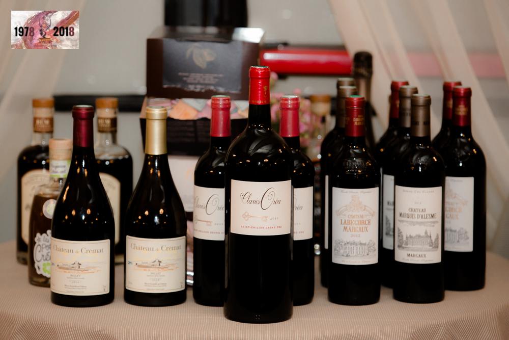 Diner de cloture du salon les rencontres vinicoles de for Salon du vin nice