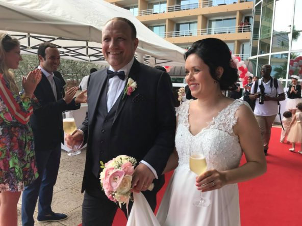 Mr Frédéric Woelfflé & Mlle Laura Alina se sont dit