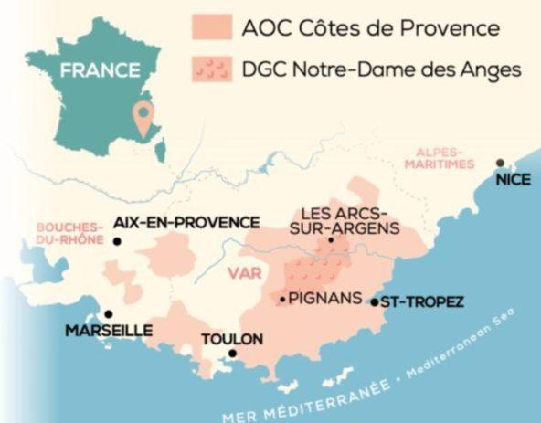 DGC Côtes de Provence Notre Dame des Anges by Julia Scavo