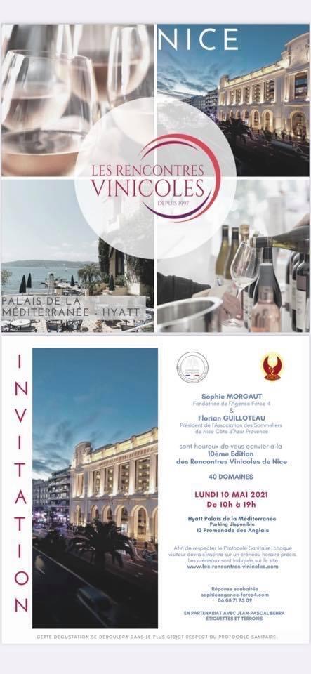 10ème Edition des Rencontres Vinicoles de Nice